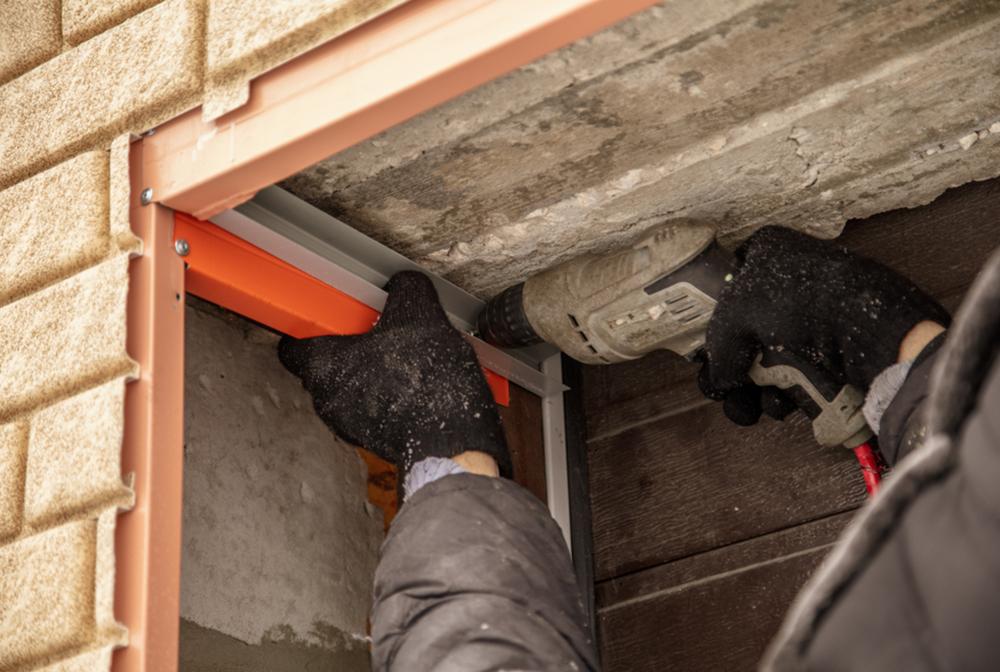 Dented Garage Door Repair