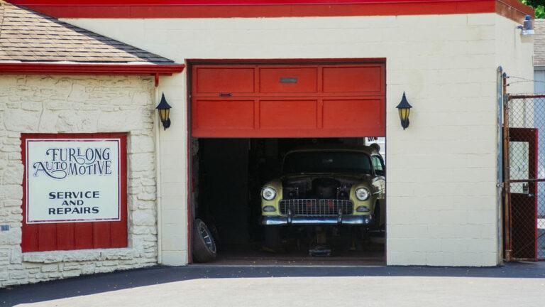 Garage Door Slams Shut